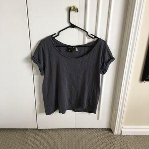Basic dark grey t shirt